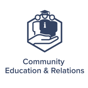Community Education and Relations Icon