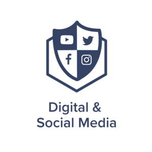 Digital & Social Media Icon