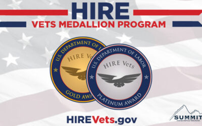 SummitET Receives 2020 Hire Vets Medallion Award from U.S. Department of Labor